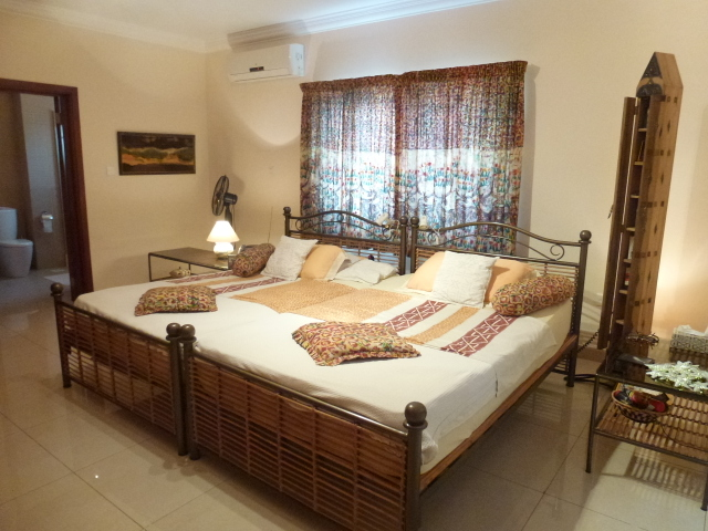 Master Bedroom furniture included  4 bed 3 Bath Spacious Modern Apartment  in Airport Res. Bedroom Appliances
