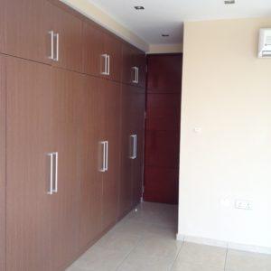 Bedroom with storage